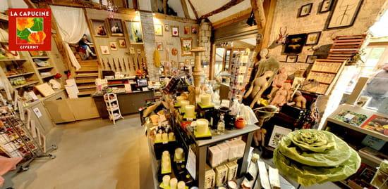 La Capucine Giverny, Café-Boutique  - Le Café-Boutique -   © La Capucine Giverny