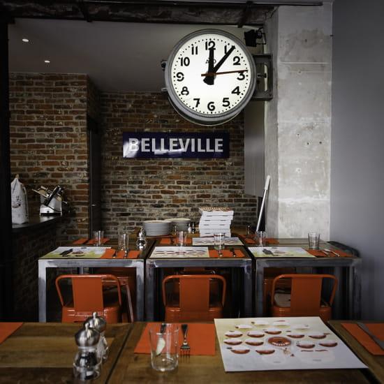 La Cerise sur la Pizza - Belleville  - La Cerise sur la Pizza - intérieur -   © La Cerise sur la Pizza