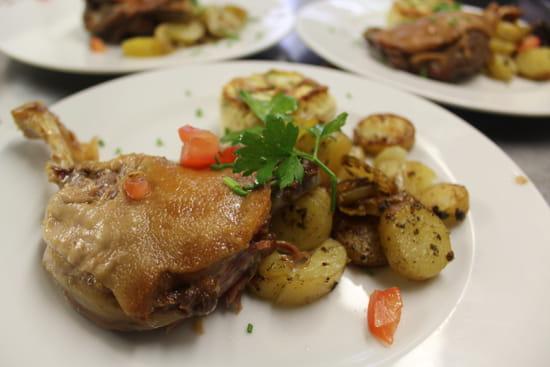 La Chalosse  - confit de cuisse de canard -   © chalosse