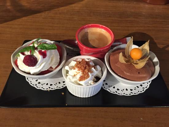 La Chalosse  - café gourmand -   © chalosse