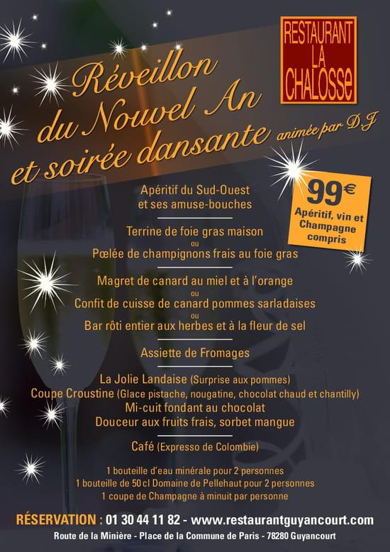 La Chalosse  - réveillon du nouvel an  -   © chalosse