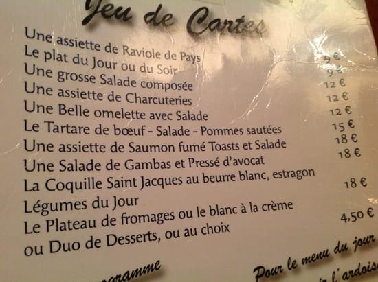 La Charrette  - La carte  -