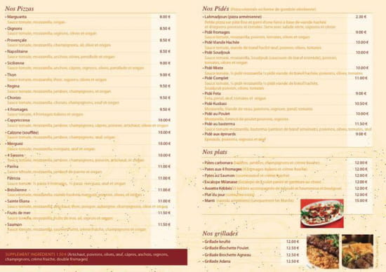 , Restaurant : La Cuisine du Soleil