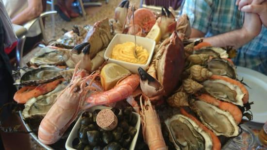 , Plat : La Dégustation du Lac  - Fruits de mer  -
