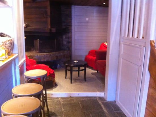 La Ferme de Rosalie  - bar et coin salon au rez de chaussee -