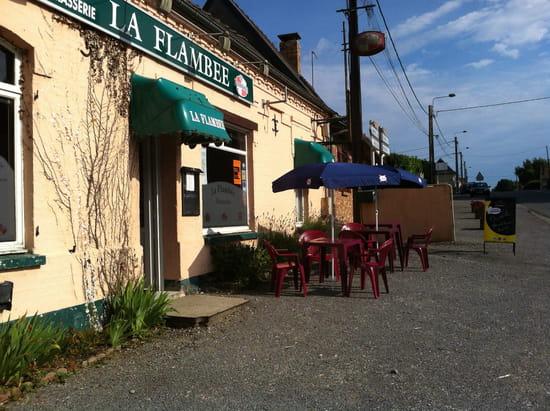 La Flambée  - Restaurant vue des la Nationale -