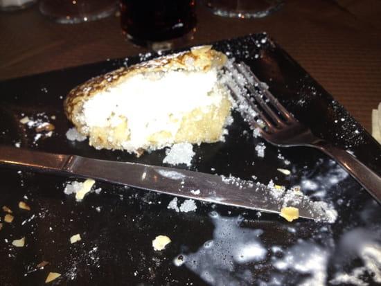 , Restaurant : La Goelette  - La tonne de sucre mis dans le bout de la crêpe ! -