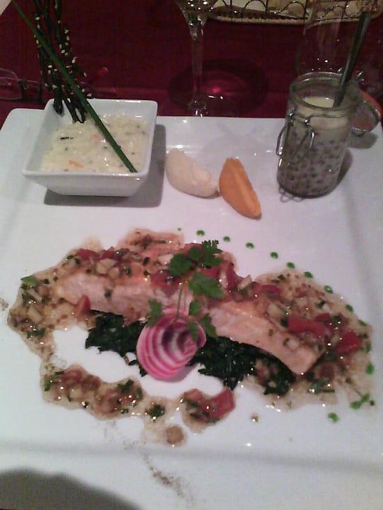 , Plat : La Gourmandine  - Saumon -