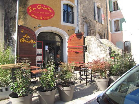 La Griotte  - La terrasse -