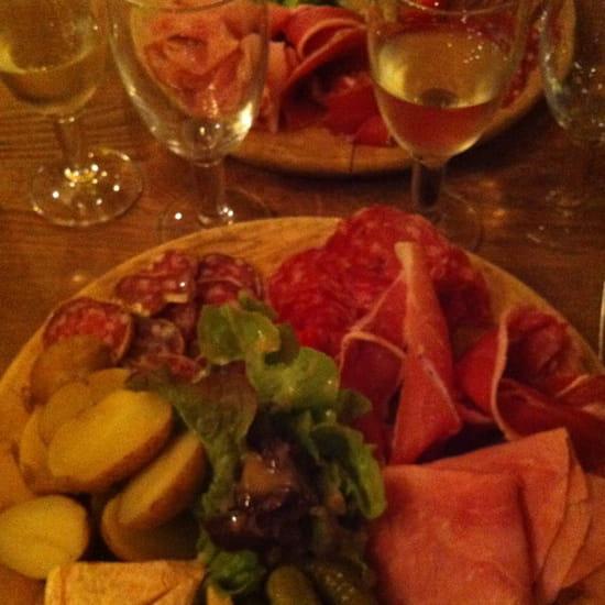 , Plat : La Grolle  - Assiette du Berger -