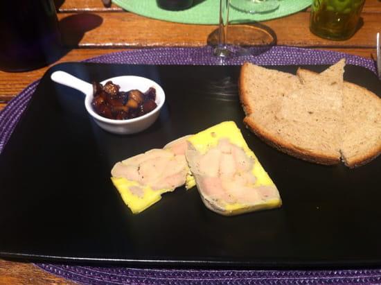 , Entrée : La Maisons des Saveurs  - Foie gras maison -