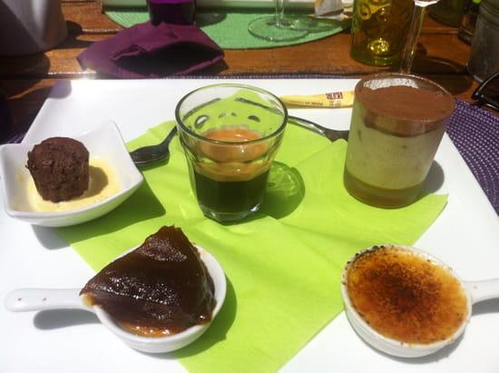 , Dessert : La Maisons des Saveurs  - Café gourmand -