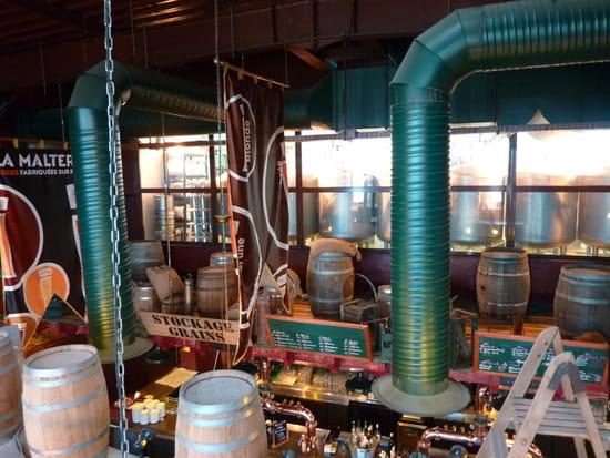 La Malterie Labège  - Bière fabriquée sur place -   © BYSP