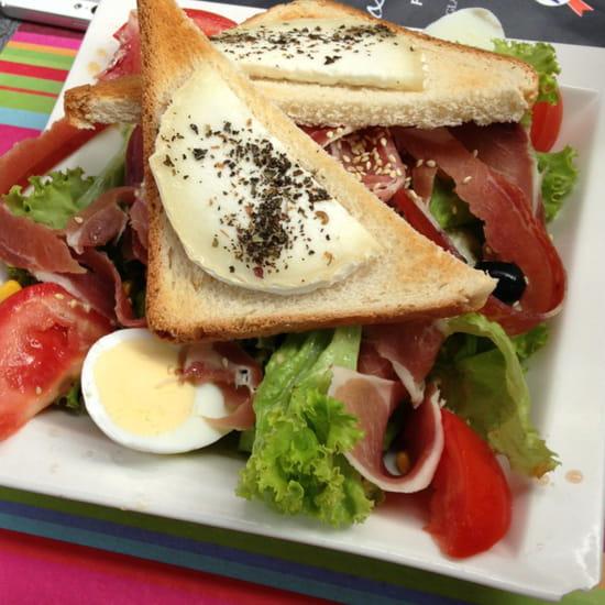 , Plat : La Marina  - Salade de chèvre chaud -