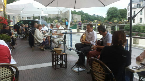 , Restaurant : La Marine  - Terrasse -