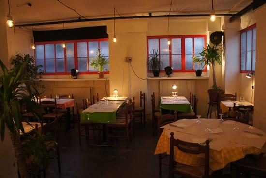La Menuiserie  - la salle de restaurant -   © Nicolas Poisson