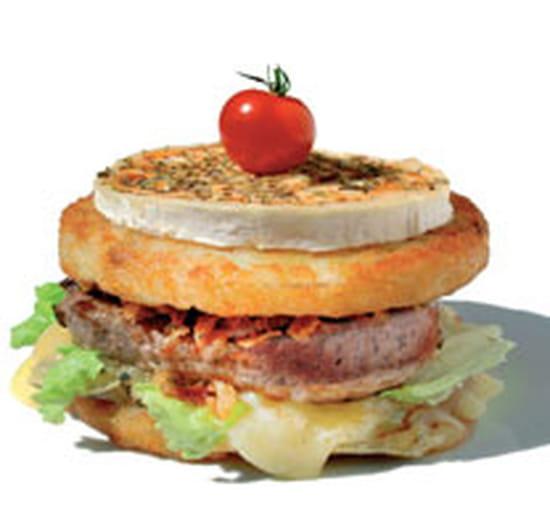 La Pataterie  - la star de la pataterie, le patata burger -   © david fauchoux