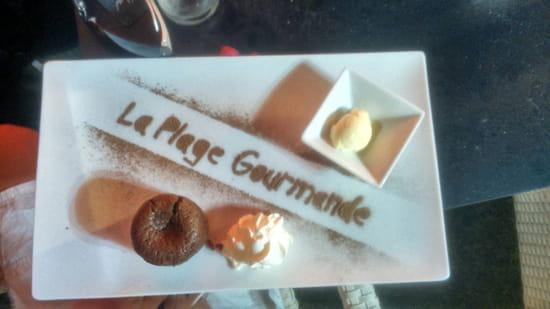 , Dessert : La Plage Gourmande