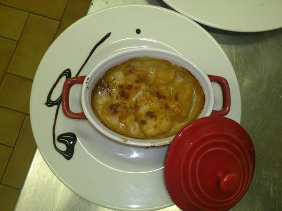 La Pomme de Pin  - Cassolette st jacques et crevettes maison -
