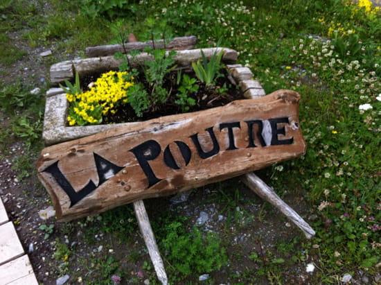 , Restaurant : La Poutre