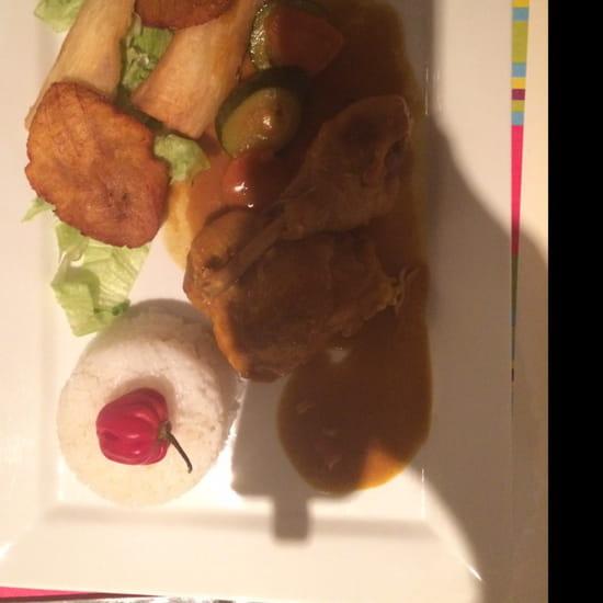 , Plat : La Puerta del Sol  - Colombo de poulet -