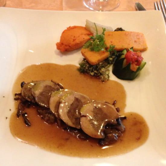 , Plat : La Renardière  - Suprême de faisan aux champignons -