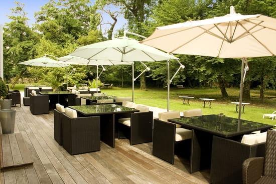 La Réserve au Pavillon du Château Raba  - Terrasse Restaurant  -