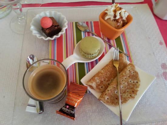 , Dessert : La Scala  - café gourmand mmmh  :-) -