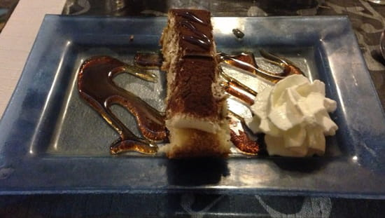, Dessert : La Table  - Dessert menu a 14€50 tiramisu -