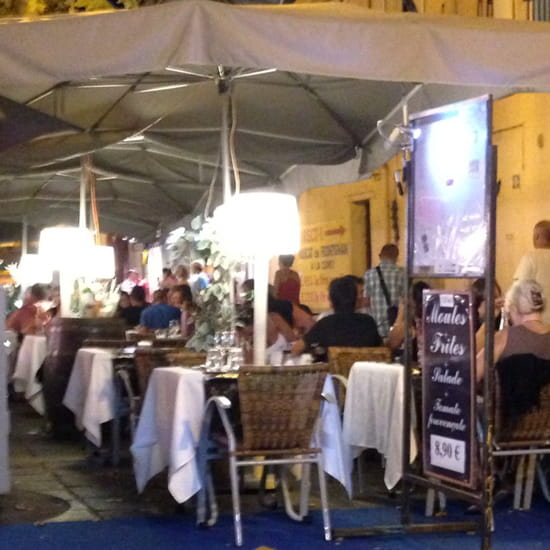 , Restaurant : La Table  - Terrasse  -