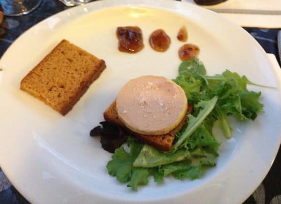 , Entrée : La Table  - Entrée menu a 19€90 foie gras -