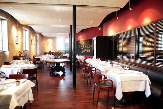 la table calvet restaurant gastronomique bordeaux avec linternaute. Black Bedroom Furniture Sets. Home Design Ideas