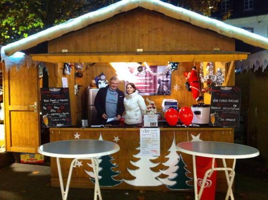 La Table d'Aur  - Notre chalet au marché de Noël à Haguenau -