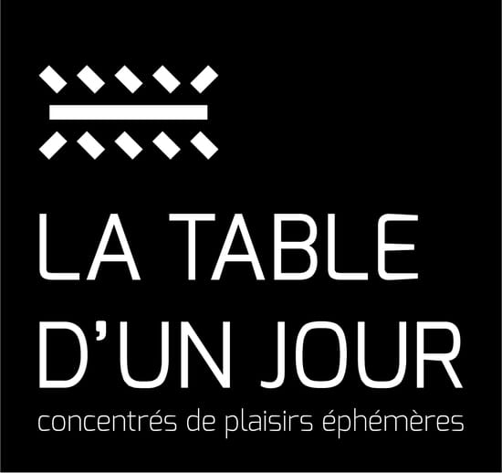 La Table d'un Jour  - Logo de LA TABLE D'UN JOUR -   © La Table d'Un Jour