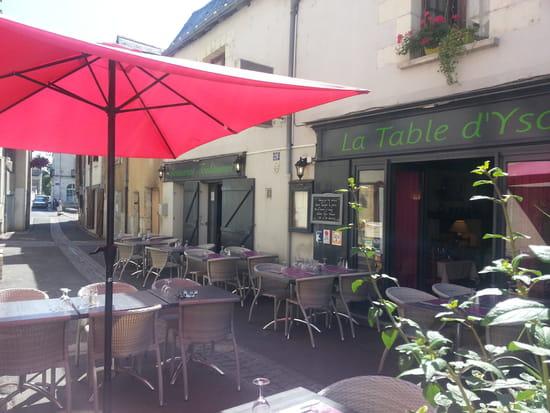 La Table d'Ysoa  - La Terrasse -   © La Table d'Ysoa