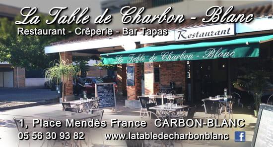 La Table de Charbon Blanc