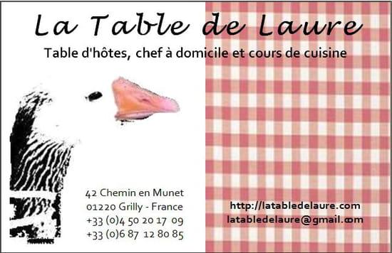 La Table de Laure
