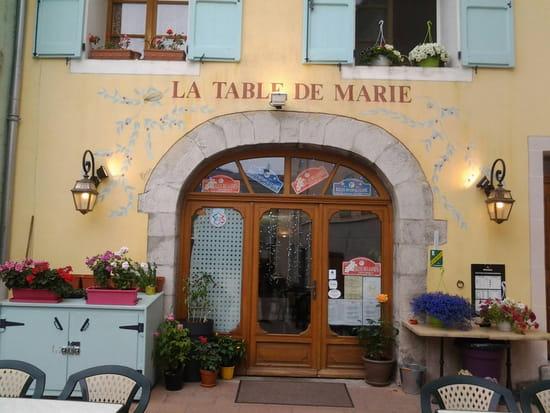 la table de marie restaurant italien saint andr les alpes avec linternaute. Black Bedroom Furniture Sets. Home Design Ideas