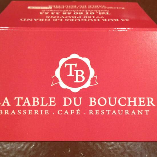 , Restaurant : La Table du Boucher