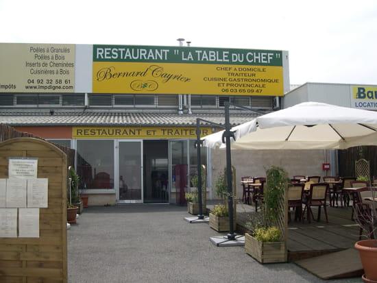 La Table du Chef