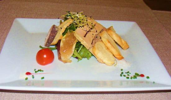 La Table du Grand Marché  - Foie gras -   © Moi