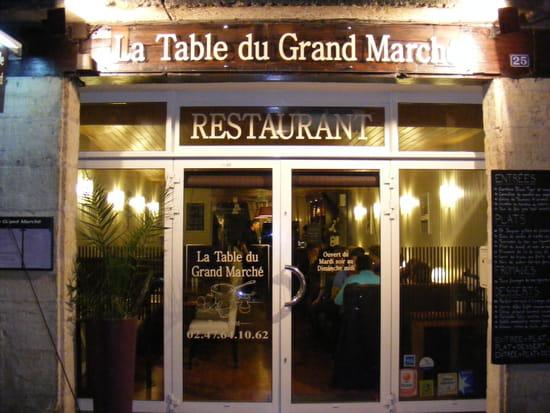 La table du grand march restaurant gastronomique tours - La cuisine du monstre tours ...