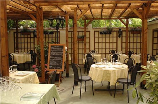 la table du jardin restaurant de cuisine traditionnelle. Black Bedroom Furniture Sets. Home Design Ideas