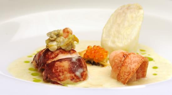 La table du pouyaud restaurant gastronomique - Decoration table restaurant gastronomique ...