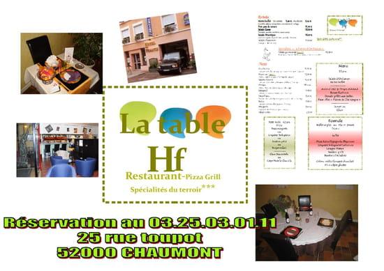 La Table HF