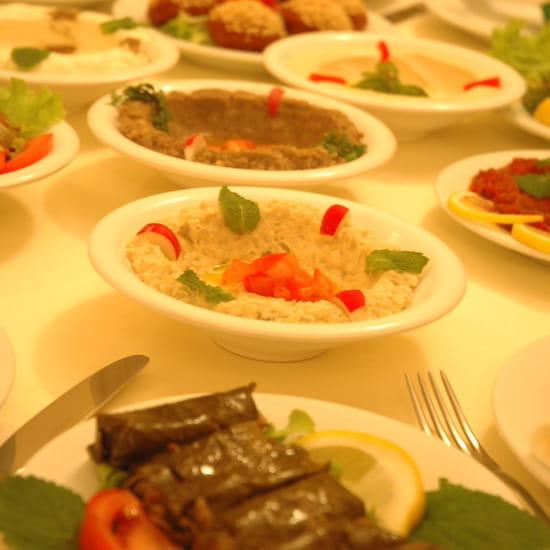 La table libanaise restaurant de cuisine traditionnelle - La table libanaise la fourchette ...