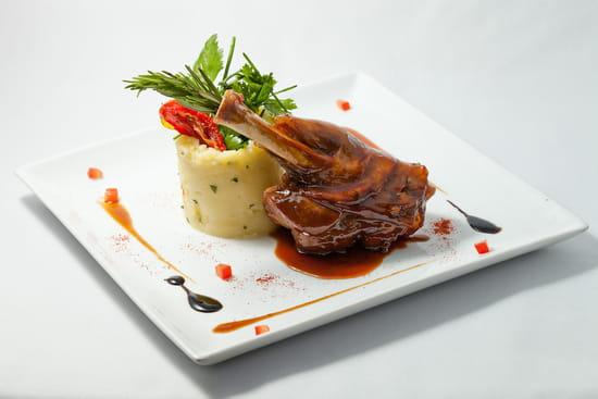 La Table Servie  - Souris d'agneau -   © Enyya Communication