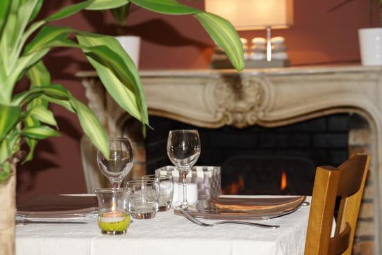 La Table Verte  - notre cheminée -
