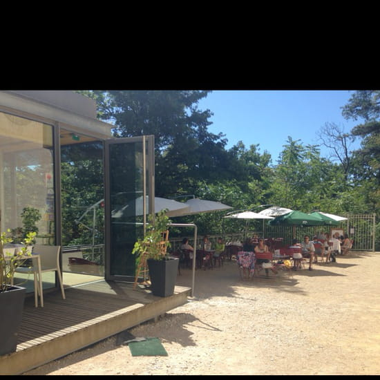 , Restaurant : La Terrasse de Riquet  - Terrasse extérieure  -