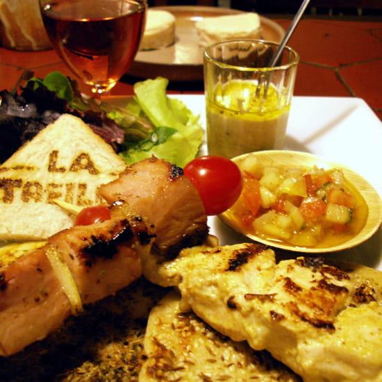 La Treille  - Des assiettes copieuses et gourmandes -